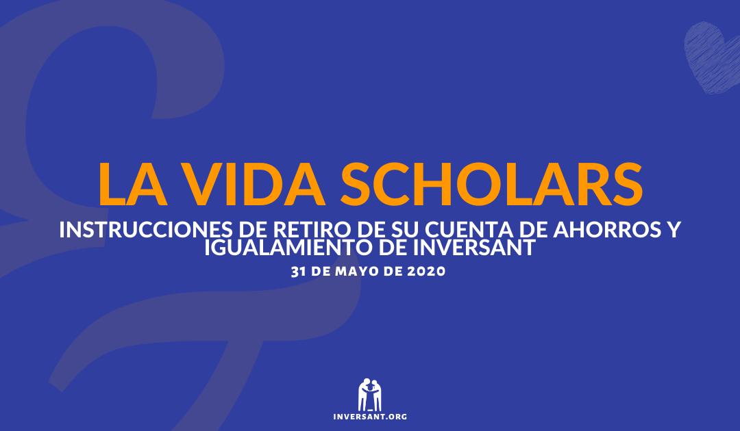 LVS Mayo 2020 Retiro de su Cuenta de Ahorros y Igualamiento de Inversant