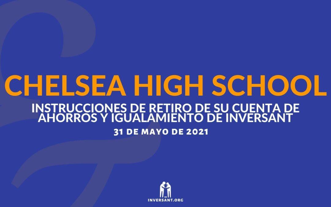Chelsea Mayo 2021 Retiro de su Cuenta de Ahorros y Igualamiento de Inversant